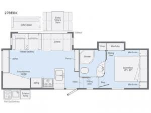 Minnie Plus 27REOK Floorplan Image