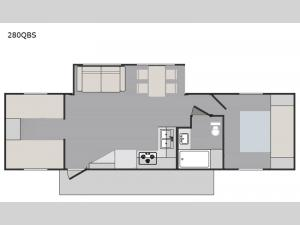 Liberty Independence 280QBS Floorplan Image