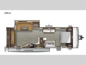 Autumn Ridge 26RLS Floorplan Image