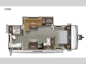 Autumn Ridge 21RBS Floorplan Image