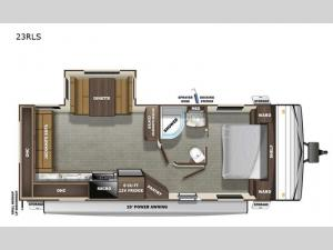 Autumn Ridge 23RLS Floorplan Image