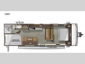 Autumn Ridge 26BH Floorplan Image