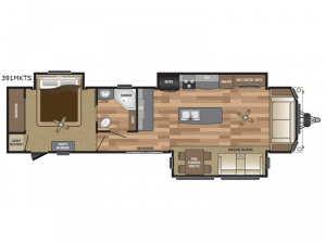 Retreat 391MKTS Floorplan Image