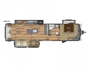 Retreat 39RLTS Floorplan Image
