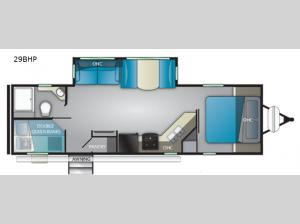 North Trail 29BHP Floorplan Image
