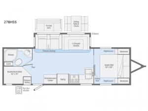 Minnie Plus 27BHSS Floorplan Image