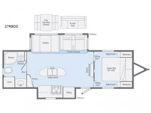 Minnie Plus 27RBDS Floorplan Image