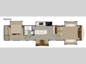 Landmark 365 Madison Floorplan Image