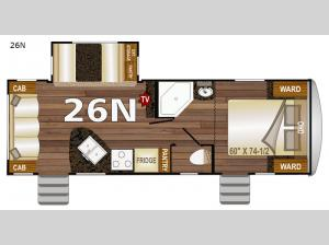 Nash 26N Floorplan Image
