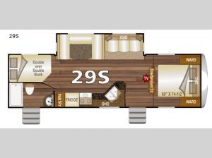 Nash 29S Floorplan Image