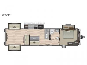 Retreat 39RDEN Floorplan Image