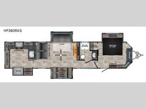 Hampton HP380RKS Floorplan Image