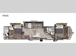 Wildwood Lodge 4002Q Floorplan Image