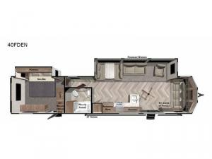 Wildwood Lodge 40FDEN Floorplan Image