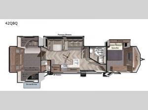 Wildwood Lodge 42QBQ Floorplan Image