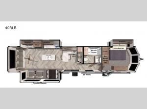 Wildwood Lodge 40RLB Floorplan Image
