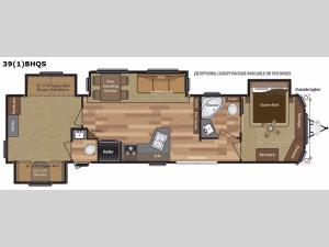 Retreat 39BHQS Floorplan Image