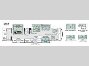 Tuscany 40RT Floorplan Image