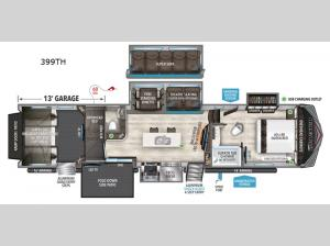 Momentum 399TH-R Floorplan Image