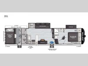 Raptor 351 Floorplan Image