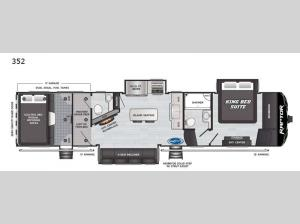 Raptor 352 Floorplan Image