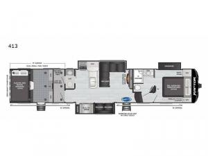 Raptor 413 Floorplan Image