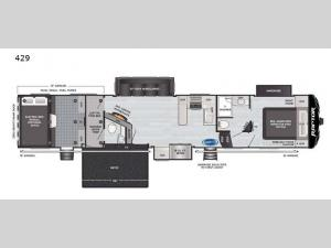 Raptor 429 Floorplan Image