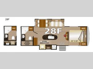 Arctic Silver Fox Edition 28F Floorplan Image