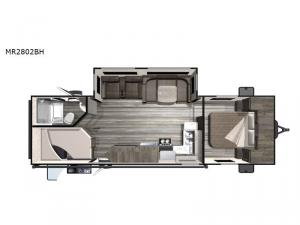 Mesa  Ridge Lite MR2802BH Floorplan Image