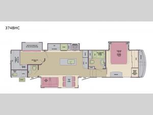 Columbus Compass 374BHC Floorplan Image