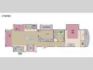 Columbus Compass 378MBC Floorplan Image