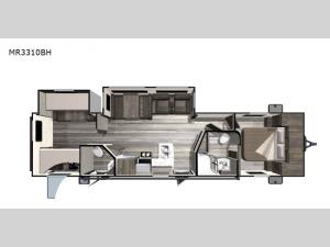 Mesa  Ridge Lite MR3310BH Floorplan Image