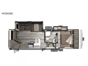 Mesa  Ridge Lite MF2502RE Floorplan Image