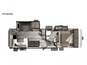 Mesa  Ridge Lite MF2804RK Floorplan Image