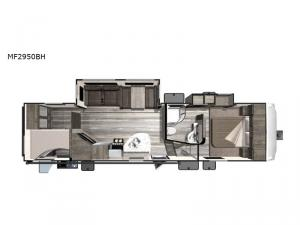 Mesa  Ridge Lite MF2950BH Floorplan Image