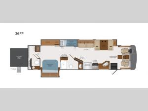 Bounder 36FP Floorplan Image