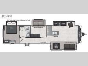 Retreat 391MBNK Floorplan Image