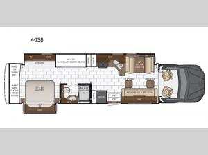 Super Star 4058 Floorplan Image