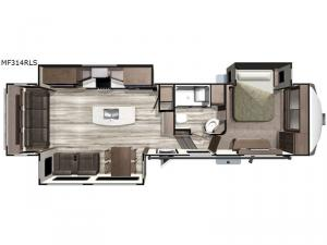 Mesa Ridge MF314RLS Floorplan Image
