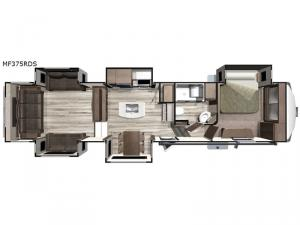 Mesa Ridge MF375RDS Floorplan Image