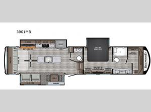 Redwood 3901MB Floorplan Image