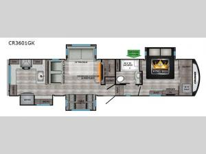 Cruiser CR3601GK Floorplan Image