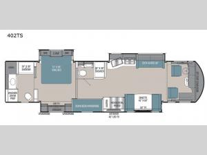 Sportscoach RD 402TS Floorplan Image