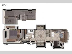 Wildwood Grand Lodge 42FK Floorplan Image