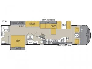 Mirada Select 37RB Floorplan Image