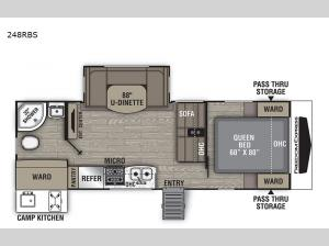 Freedom Express Ultra Lite 248RBS Floorplan Image