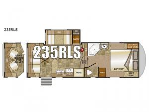 Fox Mountain 235RLS Floorplan Image