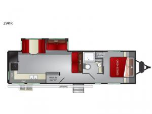 Fun Finder XTREME LITE 29KR Floorplan Image