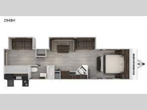 Cherokee Black Label 294BHBL Floorplan Image