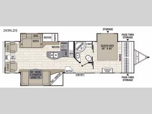 Freedom Express Liberty Edition 293RLDS Floorplan Image